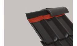 Closoir de ventilation souple DELTA-ECO ROLL 310 mm rouge 50 m